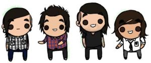 Pierce The Veil by ZacheyRawrr