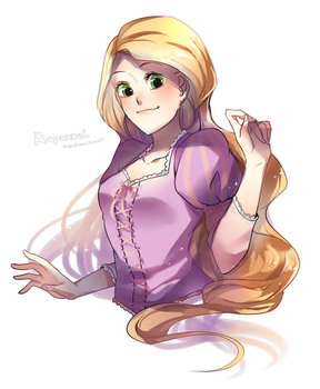 LOG___Rapunzel by trudyfish