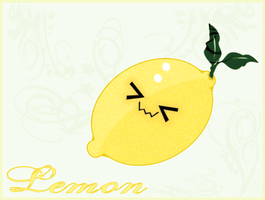 Kawaii Lemon Wallpaper by Ladymalk