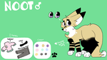 Noot Ref- Commission for StonedSpace by TheshadowpawAJ