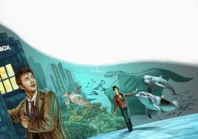 Dr Who: Deep Water Pgs 1 and 2 by BrianAW