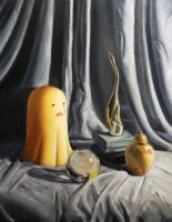 Still Life with Ghost by JessicaEdwards