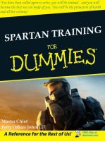 Spartan Training For Dummies by ProfessorNature