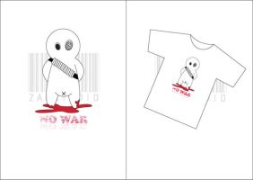 No war1 by zanstudio