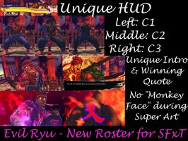 Evil Ryu - New Roster for SFxT by robhal
