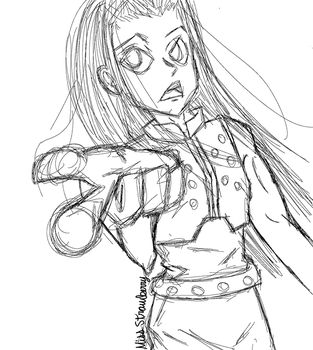 Illumi Sketch by MissStrawberry28