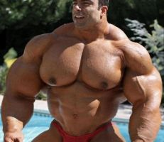 Muscle at the Pool - Bigger by n-o-n-a-m-e