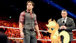Brad Maddox and Applejack by RicRobinCagnaan