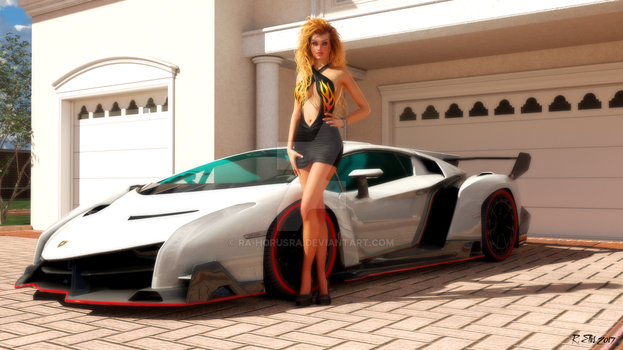 Sports car Model by Ra-HorusRa