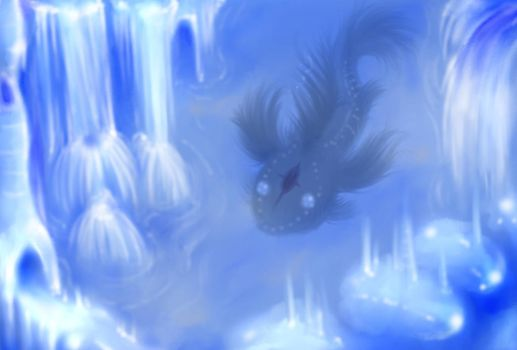 Ice Cave by Opalmartin
