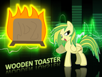 Wooden Toasters Wallpaper by KitsuneFoxx110
