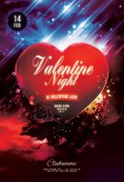 Valentine Night Flyer by styleWish