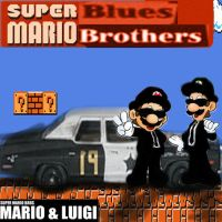 Super Blues BROS. by 1amm1