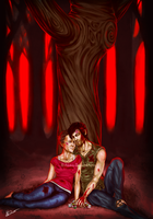 Walking Dead: Dark Days (Daryl x Carol) by NickLavin