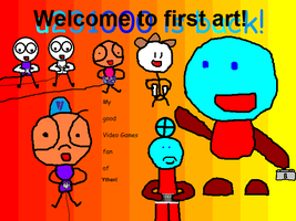 Welcome to first art! by ythanguy1985