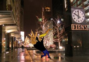 Johny Bravo photoshop by germanalbertogotta