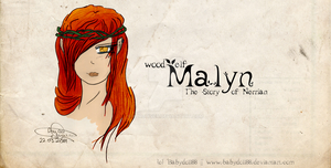 wood elf Lady Malyn by KuroHiver