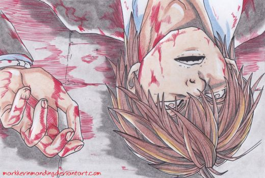 Light Yagami Dies by markkevinmanding