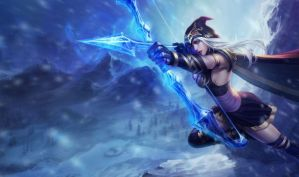 Ashe come back with the new skin by GaaraTinaSai