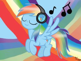 Rainbow Dash Music by Kukirra