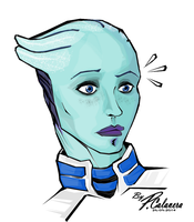 Liara by PCalavera