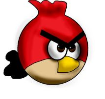 Sean, Angry Birds by SimonSevilleable