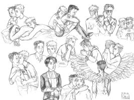 Sketchdump : A lot of Jeanmarco by Mogoliz