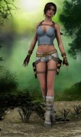 Young Lara V5 by JpauCroft