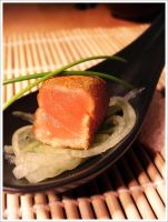 Japanese Salmon by Tomazz