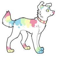rainbow adopt closed by blueflameadopts