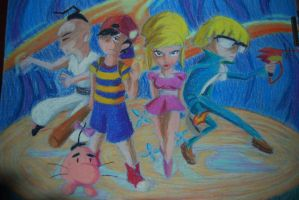 The Chosen Four -Earthbound by SpaHr