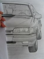 in progress - My first car's draft by Cosmata