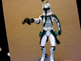 Custom clone commander by Coricle