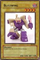 Blitzwing card by Tim1995