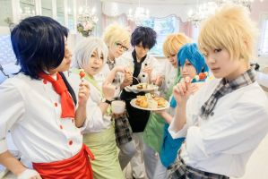 Dmmd Cafe by kaworu0926
