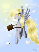 ..::Derpy Hooves Ditzy Doo::.. by Kukirra