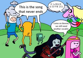 This is the Song that Never Ends by Novum-Semita