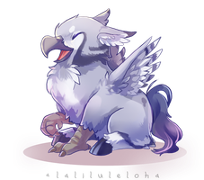 Myth Creature Babies - Hippogriff by lalaliluleloha
