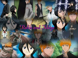 REQUEST: Ichigo and Rukia by Lady1Venus