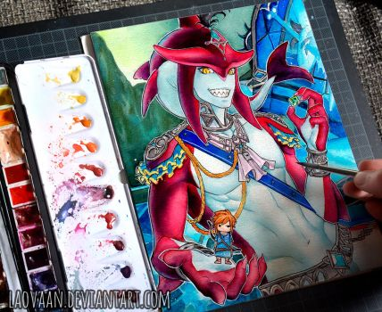 Sidon - Zelda: Breath of the Wild by Laovaan