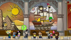 Scribblenauts: Dimmsdale Museum of History by Bowser81889