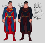 Superman Redesign + Stealth Rendition by Harseik