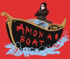 Amon a Boat by LysanderCrow