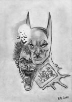 Batman Vs Joker by Bill-Con