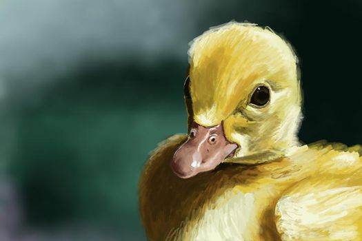 Duckling before... by Jackomack