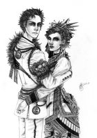 Victorian Couple by Hallucination-Walker