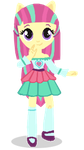 AU Sour Sweet Mini doll by SunsetShimmer333