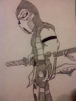 Scorpion: uncolored by Sobies516pl