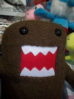 Domo Plush by foxanime101