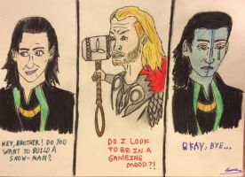 Thor's Rejection.... by Sweeneygirl310593